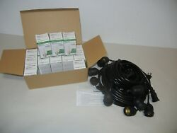 BRIGHTECH PRO EDISON LED COMMERCIAL GRADE STRING LIGHTS 15 BULBS INCLUDED