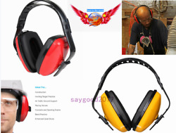 NOISE CANCELLING EAR MUFFS Safety Shooting Defenders Adult Hearing Protecte Tool