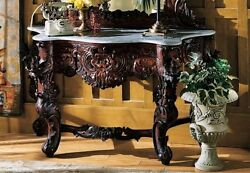 GR325 Hapsburg Marble Topped Console Table TABLE ONLY New $1389.99
