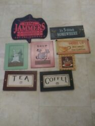 country Kitchen Decorations signs $14.99
