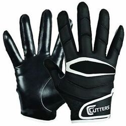CUTTERS X40 C TACK REVOLUTION GLOVES FOOTBALL ADULT SMALL $19.99