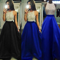 Women Formal Wedding Bridesmaid Long Evening Party Ball Prom Cocktail Dress $22.78