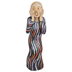 DB32872 - The Silent Scream Statue (Lg.) - After the painting by Edvard Munch