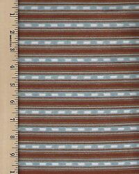 Rustic Living 22699 QA Stripe 100% Cotton priced by the 1 2 yard $6.00