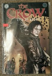 HELP RESCUE DOGCANCER❤️The Crow City of Angels Comic book LOT~Books #1 #2 #3