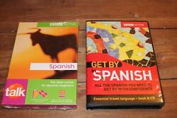 Bbc Active  Talk Spanish & Get By in Spanish Audiobooks 1 factory sealed