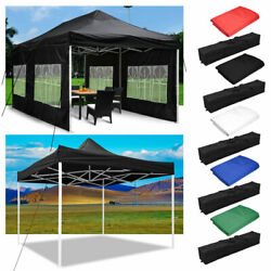 EZ Pop Up Canopy Outdoor Commercial Sunshade Wedding Party Instant Tent 10#x27; 20#x27;