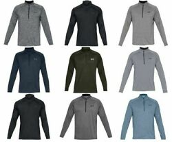 Under Armour 1328495 Men#x27;s UA Tech 2.0 1 2 Zip LS Tee Shirt Long Sleeve T Shirt $35.99