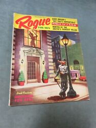 Rogue For Men #1 Dec 1955 Marilyn Monroe Vintage Men#x27;s Pinup Magazine Cheesecake $149.95