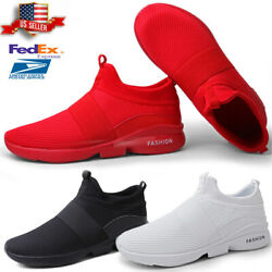 Men's Sneakers Casual Lightweight Walking Breathable Athletic Running Shoes US12