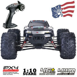 Large RC Monster Truck Car 1:10 Scale 4WD 2.4G Off road Remote Control Car Gift $119.89