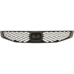 Grille Textured Black For 2009 2011 Honda Civic Coupe $38.37
