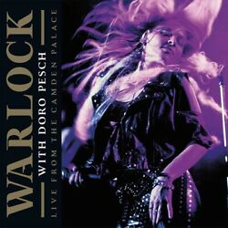 Warlock w Doro Pesch LIVE FROM CAMDEN PALACE 180g LIMITED New Colored Vinyl 2 LP $31.99