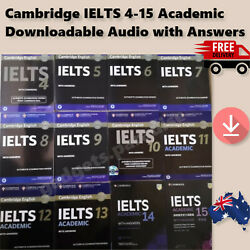IELTS 4-14 Academic 2019 New Latest Cambridge Exams+Answers & Downloadable Audio