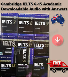 IELTS 6-14 Academic 2019 New Latest Cambridge Exams+Answers & Downloadable Audio