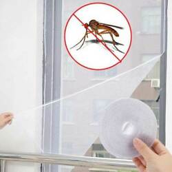 Magnetic Window Mesh Door Curtain Snap Net Guard Mosquito Fly Bug Screen Home