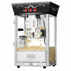 Great Northern Black Antique Countertop Style Popcorn Popper Machine 8 Ounce $149.99