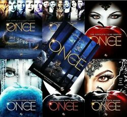 Once Upon A Time The Complete Series Seasons 1-7 DVD Set Brand New