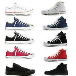 Canvas Lo Top Mens Womens Unisex All Low Tops Chuck Taylor Trainers Shoes