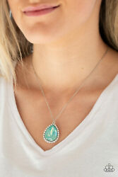 Paparazzi Jewelry Necklace ~Come Of AGELESS - Green~ NWT New Release! Summer!