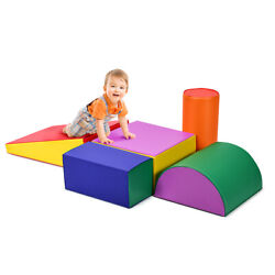 Crawl Climb Foam Shapes Playset Softzone Toy Toddler Preschoolers Kids Safe Gift