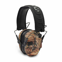 Walker#x27;s Razor Slim Electronic Shooting Muff American Flag Hearing Protection $46.99