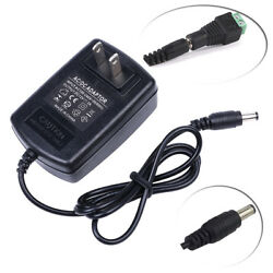 AC DC 12V 2A 24W POWER SUPPLY ADAPTER CHARGER FOR CAMERA  CCTV LED STRIP LIGHT $4.57