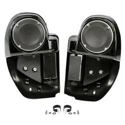 Lower Vented Fairing 6.5quot; Speaker Box Pod For Harley Touring Street Glide 14 20 $119.57