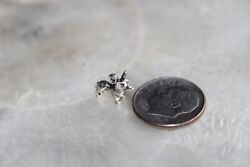 Sterling Silver Corgi Pendant Micro with free shipping $13.99