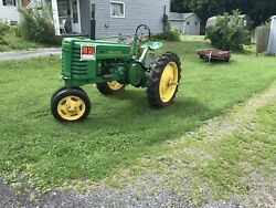 1941 John Deere H Antique Tractor NO RESERVE Very Nice - Lightly Used