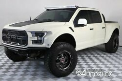 2018 Ford F-150  Raptor Kevlar Paint Baja Fenders RPG Lift 20 Inch KMC Wheels