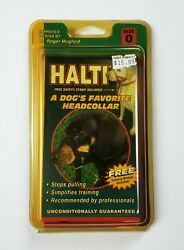 Halti Dog Headcollar Size 0 Miniature Dachshunds Toy poodles Yorkies New