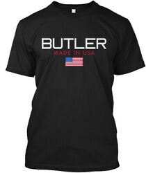 Butler Made In Usa Hanes Tagless Tee T-Shirt