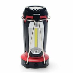 3-In-1 LED Camping Lantern Portable Light Outdoor Hiking Work Lamp Rechargeable