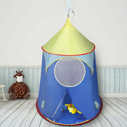 Kids Baby Play Tent Castle Camping InOutdoor Portable Foldable Children Gift