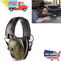 Electronic Noise Cancelling Shooting Protection Sound Block Headphones Ear Muffs
