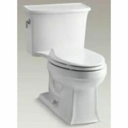 Kohler K-3639-0 White Archer Classic One-Piece Elongated Toilet