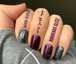 Color Street 100% Nail Polish Strips Buy 3 sets & get a mystery set FREE!