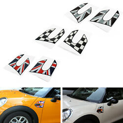 Vinyl Fender Side Scuttles Stickers Decal For 2014~2018 Mini Cooper S F56 US T1