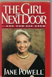 JANE POWELL THE GIRL NEXT DOOR AND HOW SHE GREW FIRST EDITION 1988 OUT OF PRINT