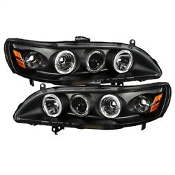 Spyder Auto 5010728 Halo Projector Headlights Fits 98-02 Accord
