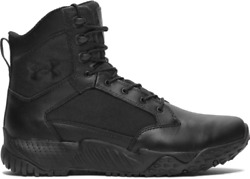 Under Armour 1268951 Men#x27;s UA Stellar 8quot; Tactical Duty DWR Leather Boots $74.99