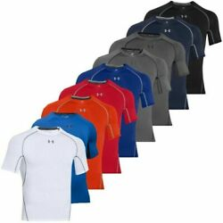 Under Armour 1257468 UA HeatGear Armour Tee Compression Short Sleeve T Shirt $24.49