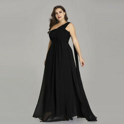 Ever-Pretty US Plus Size Long Evening Dress One Shoulder Party Prom Gown 09816 $32.39