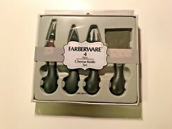 Farberware 4 Piece Cheese Knife Set