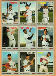 2019 Topps Heritage Baseball - High Series - Complete Your Set - FREE SHIPPING