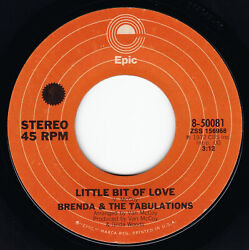 BRENDA AND THE TABULATIONS Little Bit Of Love  Let Me Be Happy