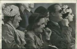 1956 Press Photo Queen Juliana & family at an Olympic day festival Amsterdam