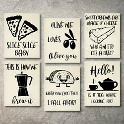 Wall Decor Kitchen Pictures Modern Farmhouse Eat Signs Decorations $19.99