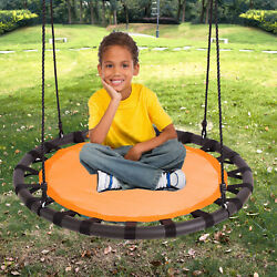 40quot; Tree Net Web Saucer Round Swing 600 lbs Weight Limit Orange amp; Black $54.99